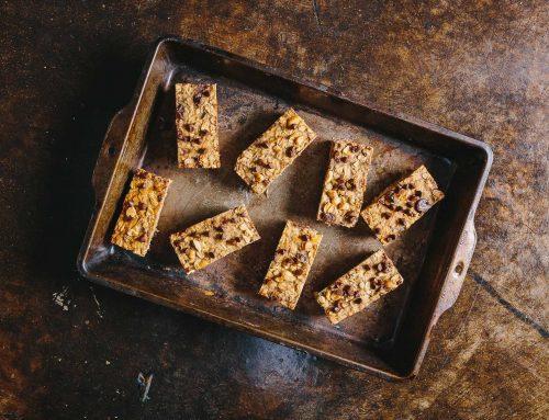 Peanut Butter Banana Granola Bars Recipe