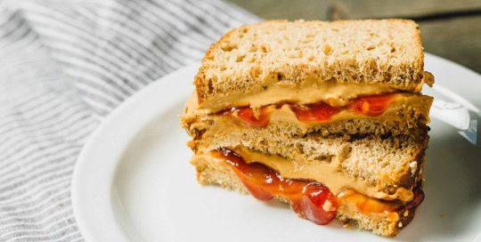Classic Peanut Butter & Jelly Sandwich: An old-school favorite, with a PB2 twist!
