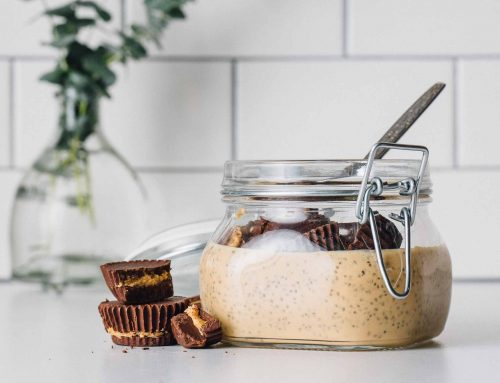 Chocolate Peanut Butter Chia Pudding