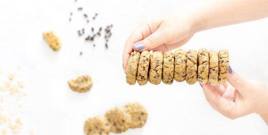 PB2 Almond Oatmeal Cookies