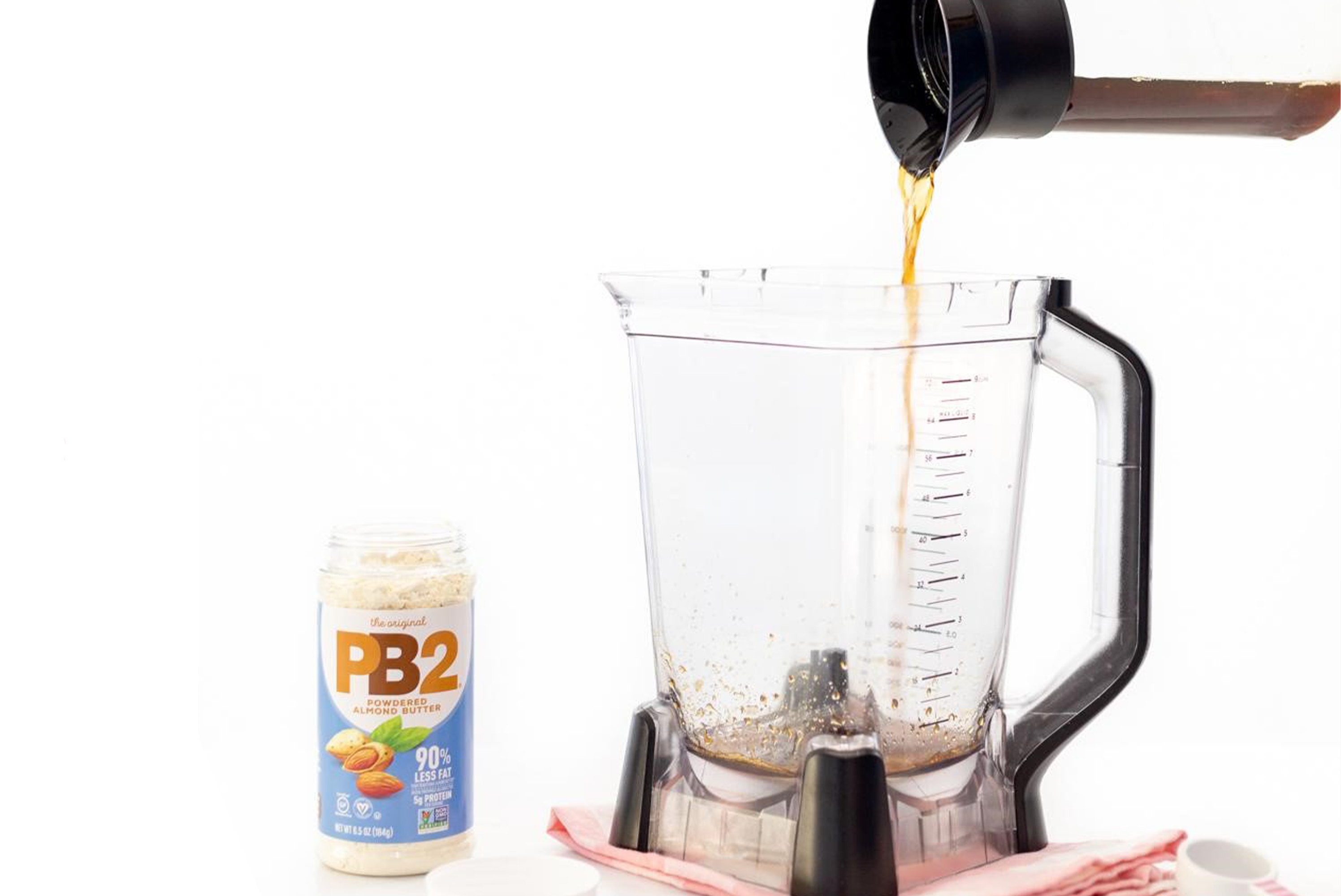 PB2 Maple Almond Iced Coffee Recipe