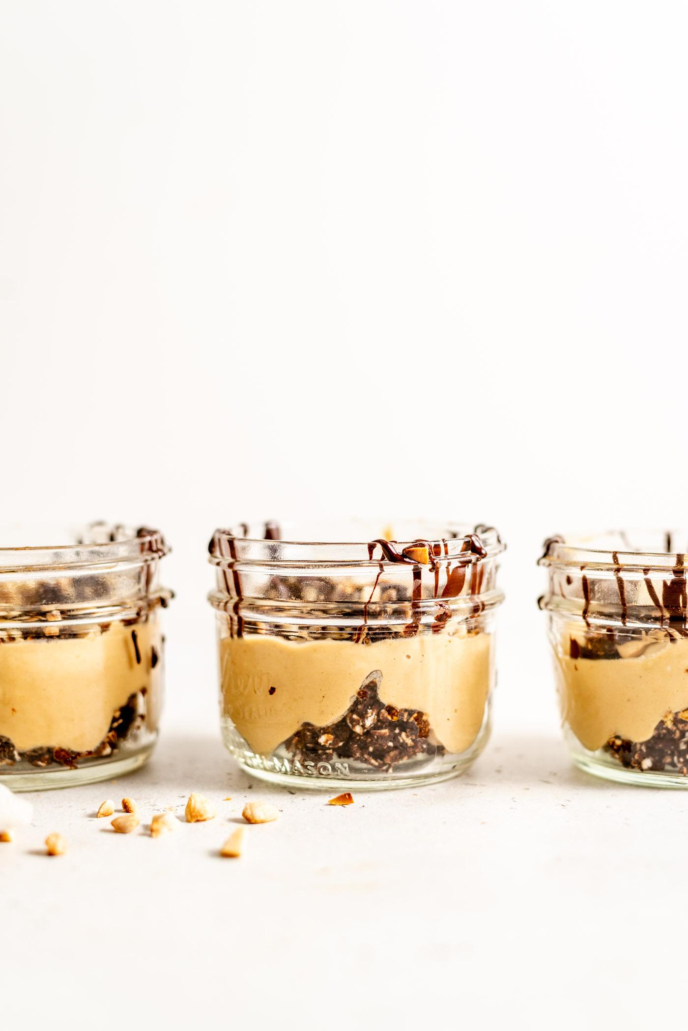 Vegan Peanut Butter Mousse Parfaits
