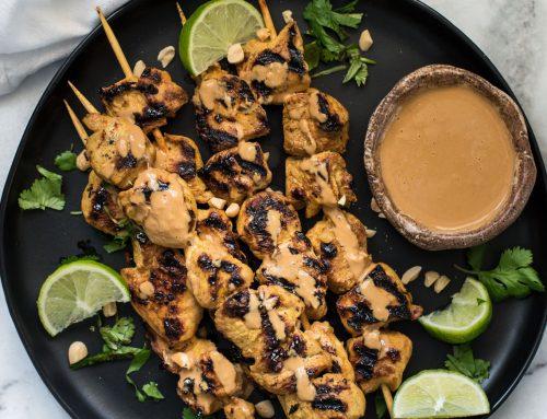 Honey Peanut Chicken Satay Recipe