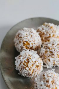 Pumpkin Peanut Butter Balls: Everyone's favorite flavors are rolled together for this on-the-go, protein-packed snack.