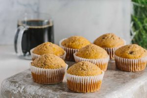 Peanut Butter Banana Protein Muffins: Make a healthy breakfast a priority by adding these yummy muffins to your meal-prep routine.