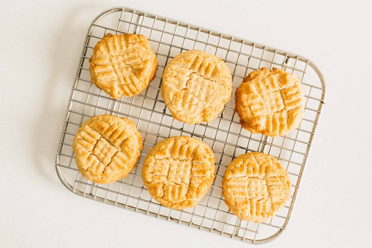 Organic Peanut Butter Cookies: A classic, must-have recipe for any home chef or baker-to-be.