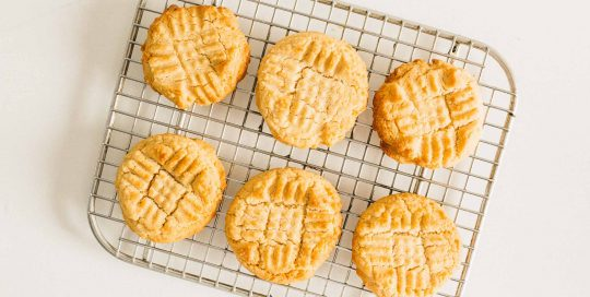 Organic Peanut Butter Cookies