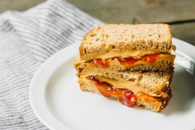 Classic Peanut Butter & Jelly Sandwich: An old-school favorite, with a PB2 twist!