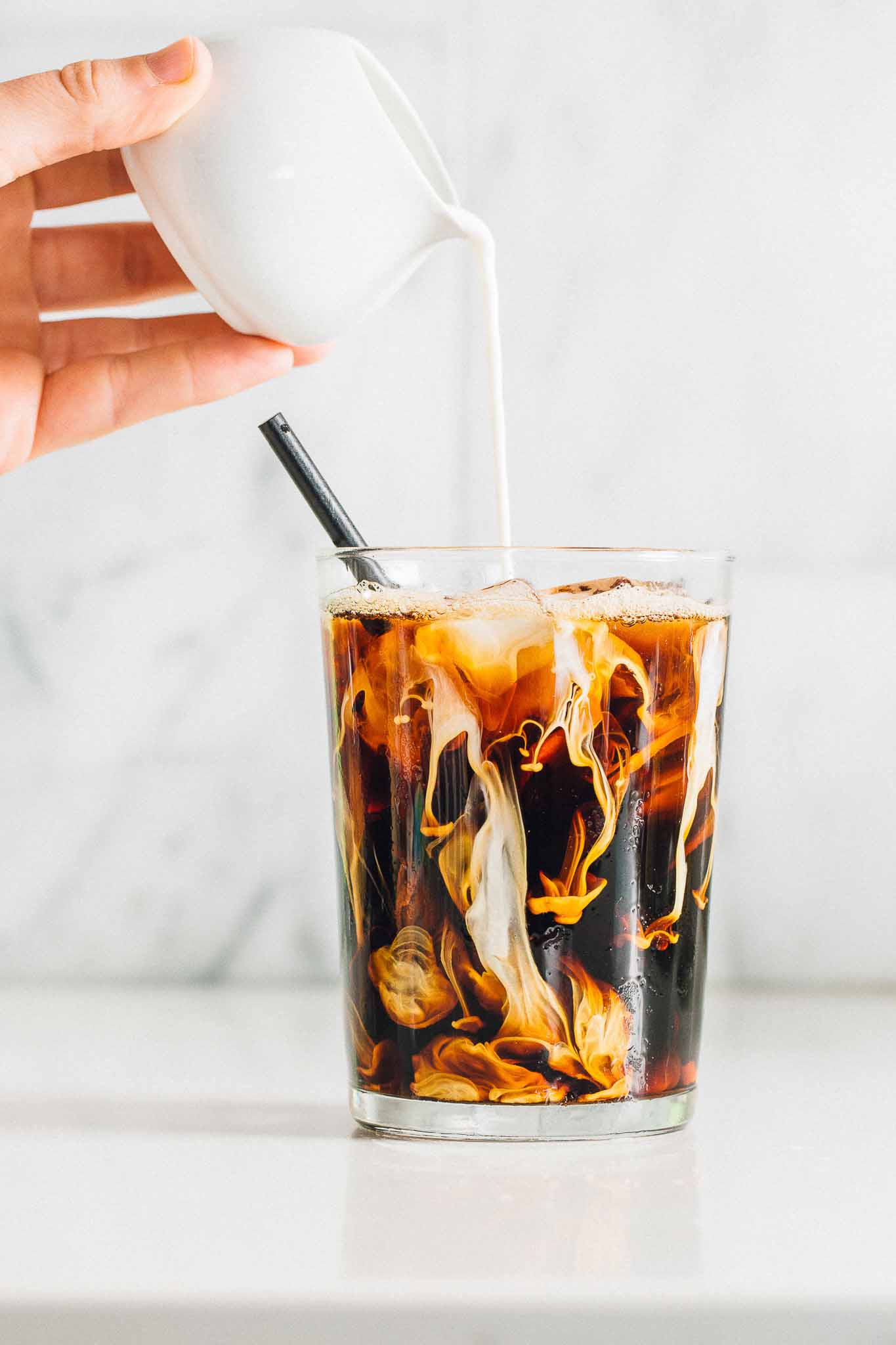 Peanut Butter Iced Latte: No frother? No problem. This is your new go-to coffee drink when you're at home.