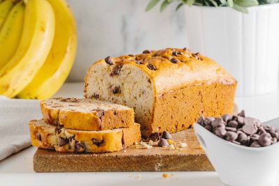 Gluten-Free Banana Bread: This gluten-free banana bread is moist, delicious and perfect for an easy snack or breakfast on the go.Gluten-Free Banana Bread: This gluten-free banana bread is moist, delicious and perfect for an easy snack or breakfast on the go.