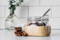 Protein Powder Replacement recipeChocolate Peanut Butter Chia Pudding: Packed with protein from milk and chia seeds, this pudding is the definition of a healthy indulgence.
