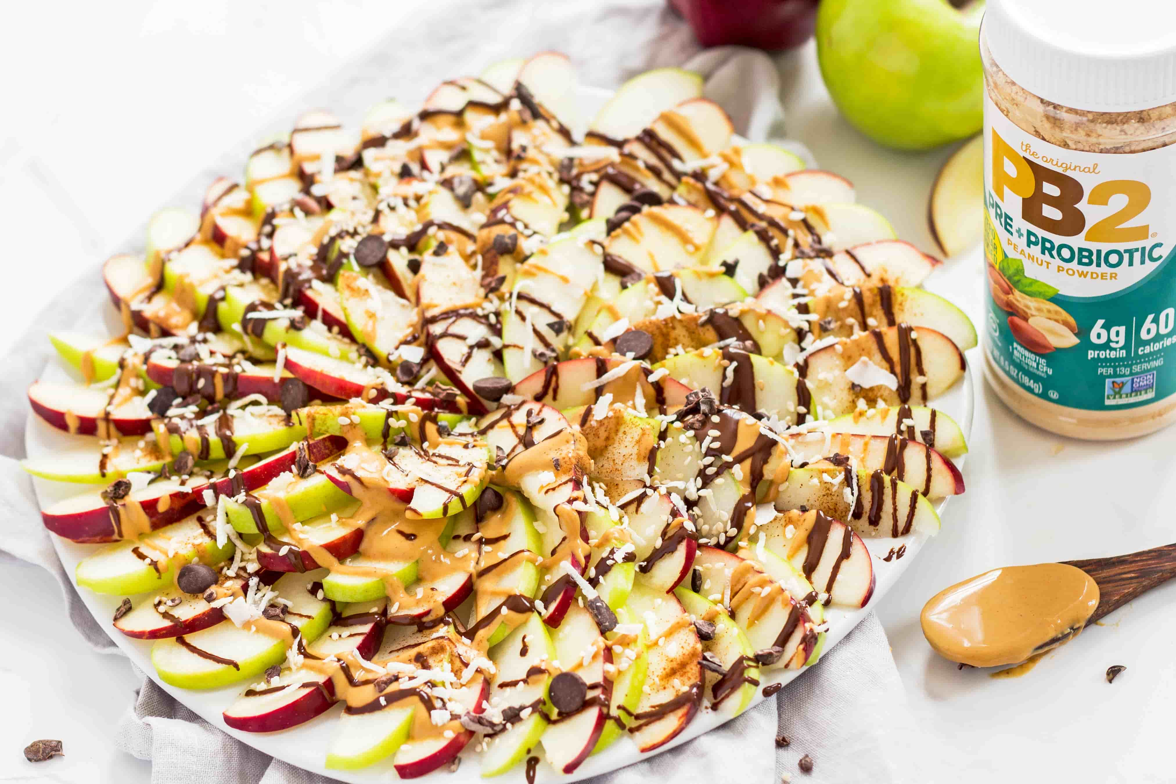 Apple Nacho Platter
