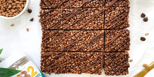Chocolate Rice Krispie Treat