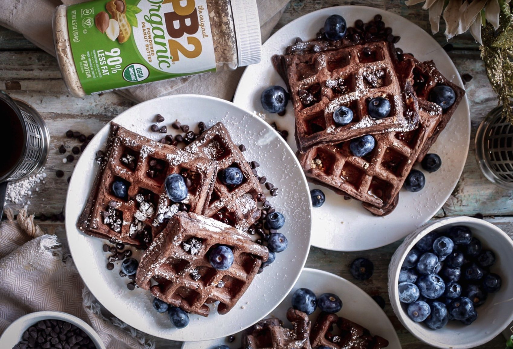 Gluten-Free Chocolate Waffles Recipe
