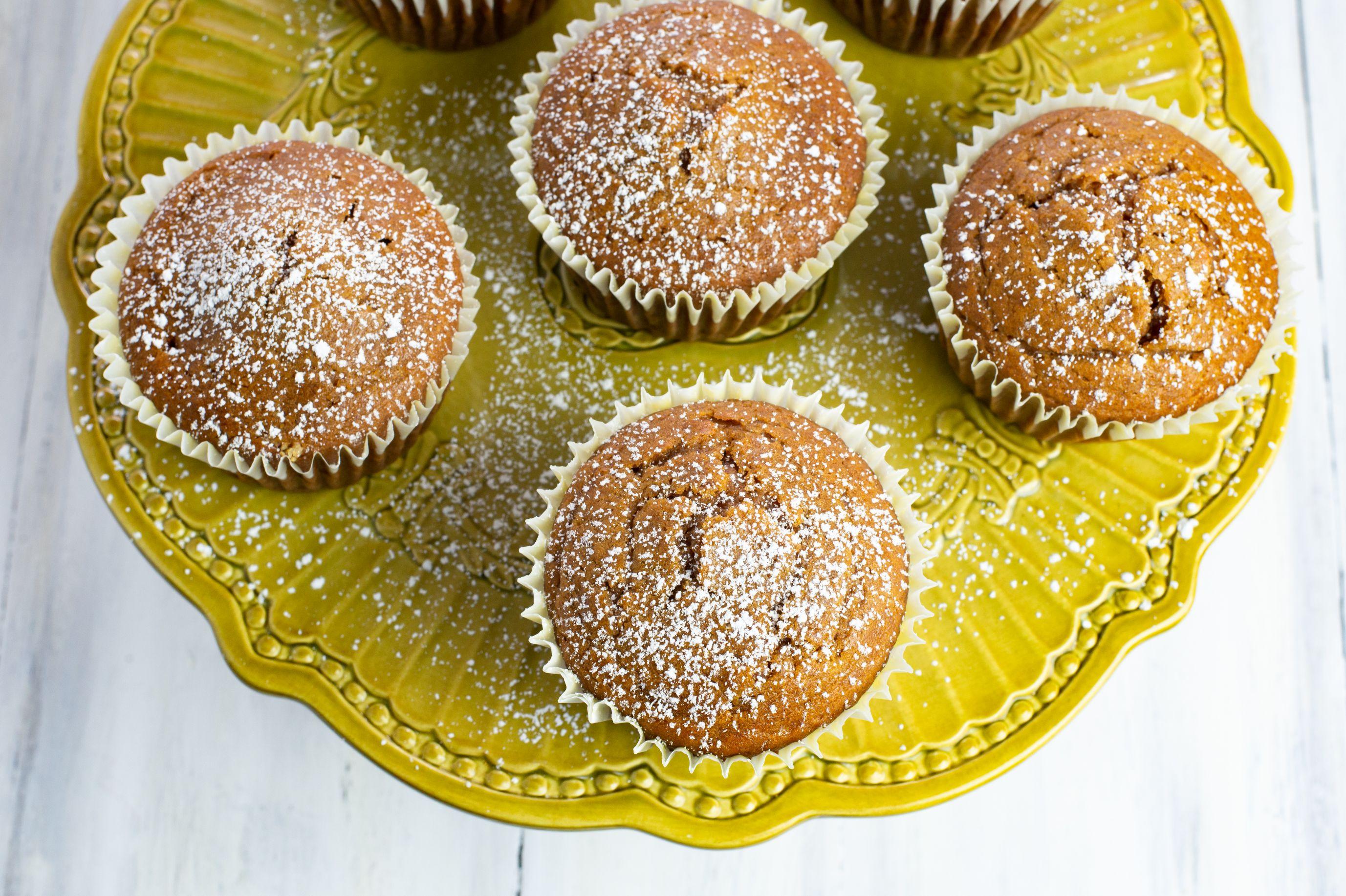 Pumpkin Spice Peanut Butter Muffins 5
