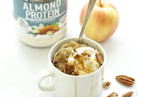 Apple Spice Protein Mug Cake Recipe
