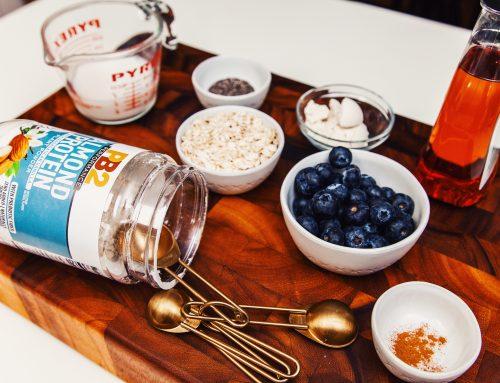 Cinnamon and Blueberry Overnight Oats Recipe
