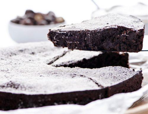 Flourless Chocolate Peanut Butter Cake Recipe