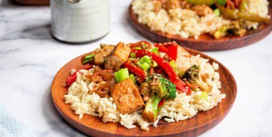 Tofu and Veggie Stir-Fry