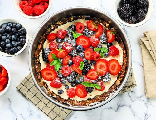 Sweet Fruit Skillet Pizza