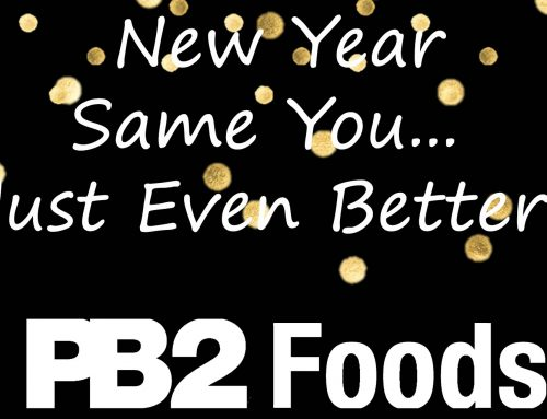 Keep your New Years Resolutions with PB2