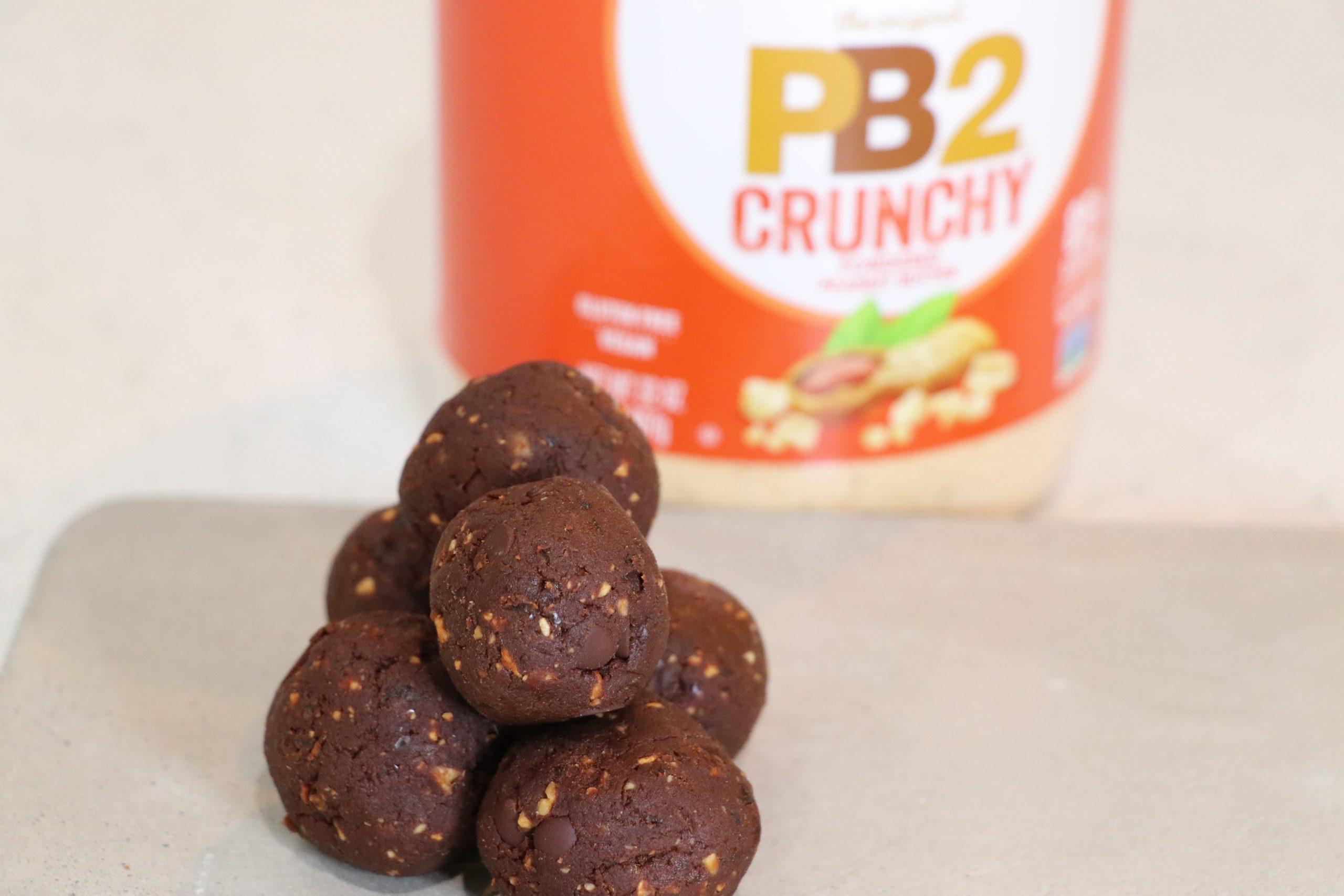 Crunchy Date Balls