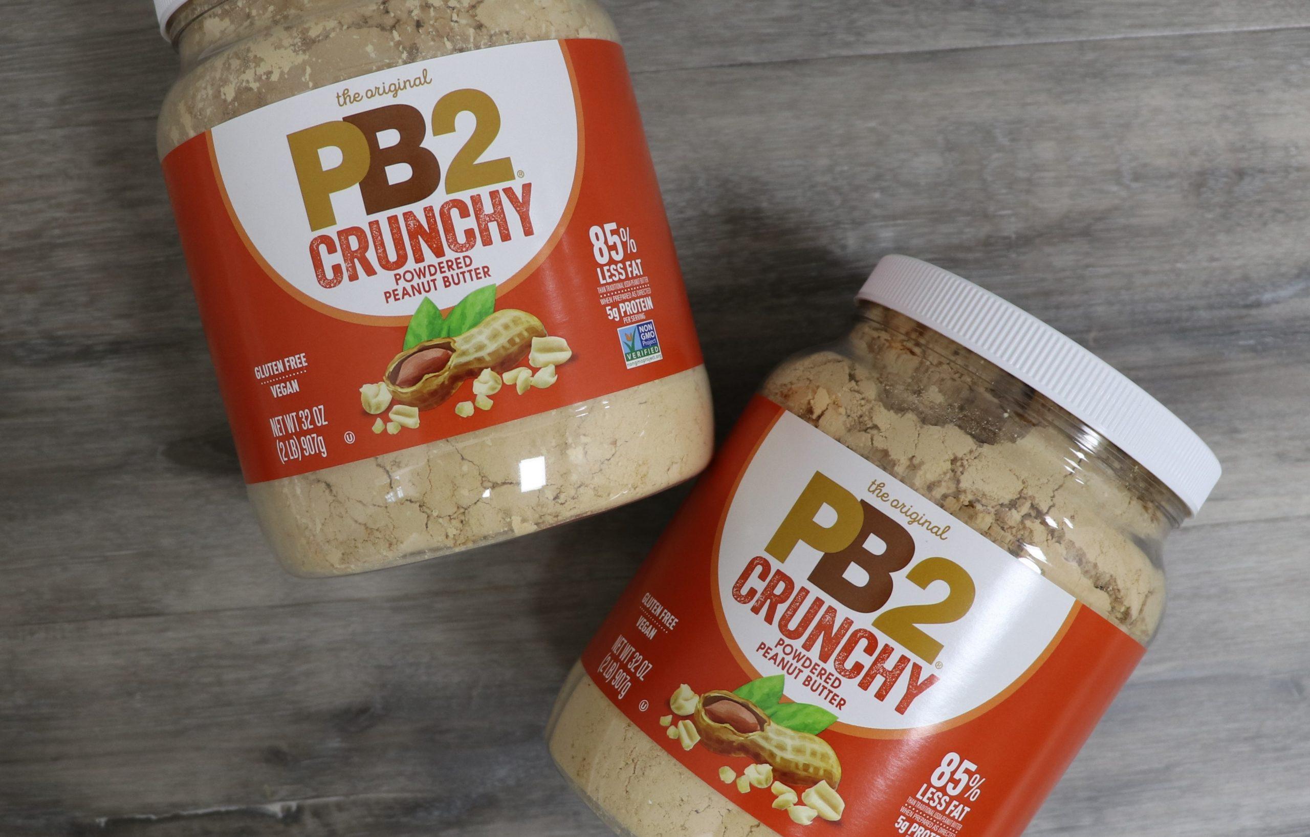 Crunchy PB2