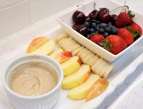 Fruit Tray with PB2 Cashew Recipe