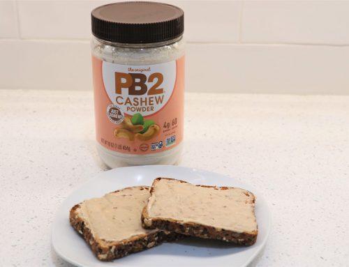 Toast with PB2 Cashew Powder Recipe