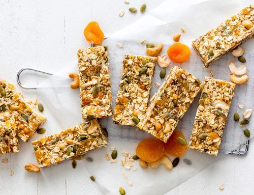 Apricot Coconut Cashew Bars Recipe
